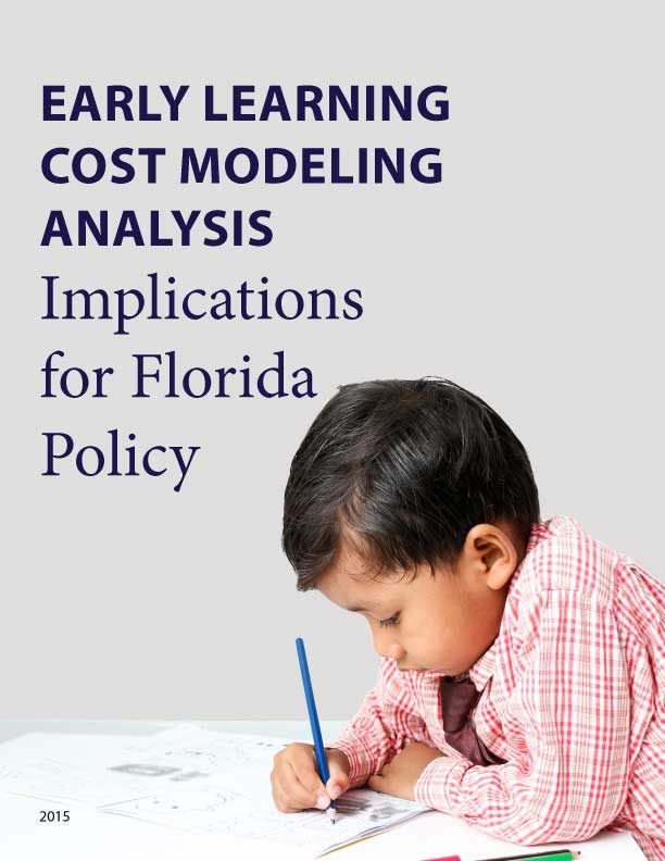 Early Learning Cost Modeling Analysis - Implications for Florida Policy